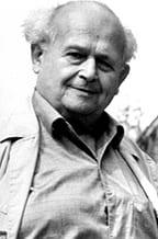 Moshe Feldenkrais, creator of the Feldenkrais Method