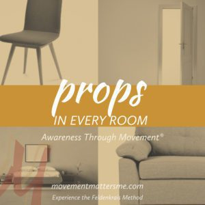 Movement lessons with props in your home